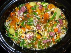 Crockpot harvest soup