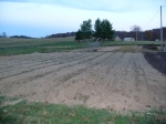 Pumpkin patch etc tilled