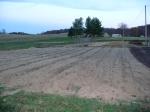 Pumpkin patch etc tilled