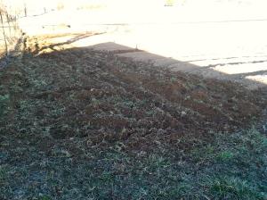 Sod plowed