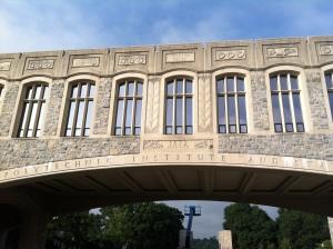 The bridge - gateway to campus