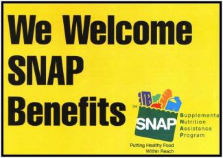 SNAP logo yellow
