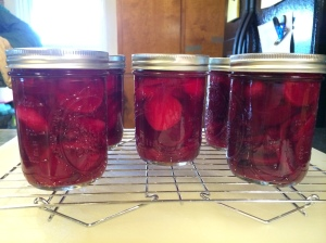 Good morning pickled beets!