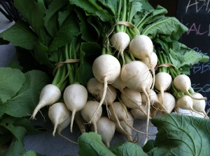 Salad turnips